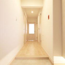 玄関からのアプローチ(玄関)